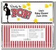 Ready To Pop - Personalized Baby Shower Candy Bar Wrappers thumbnail