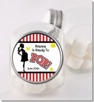 Ready To Pop - Personalized Baby Shower Candy Jar