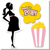 Ready To Pop Pink - Baby Shower Printed Shaped Cut-Outs