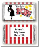 Ready To Pop - Personalized Baby Shower Mini Candy Bar Wrappers