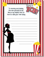 Ready To Pop - Baby Shower Notes of Advice