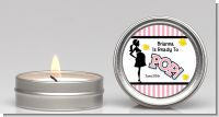 Ready To Pop Pink - Baby Shower Candle Favors