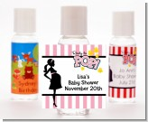 Ready To Pop Pink - Personalized Baby Shower Hand Sanitizers Favors
