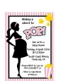 Ready To Pop Pink - Baby Shower Petite Invitations thumbnail