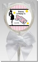 Ready To Pop Pink - Personalized Baby Shower Lollipop Favors