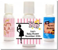 Ready To Pop Pink - Personalized Baby Shower Lotion Favors