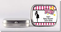 Ready To Pop Pink - Personalized Baby Shower Mint Tins
