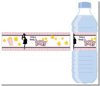Ready To Pop Pink - Personalized Baby Shower Water Bottle Labels