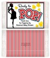 Ready To Pop - Personalized Popcorn Wrapper Baby Shower Favors thumbnail