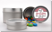 Ready To Pop Red - Custom Baby Shower Favor Tins