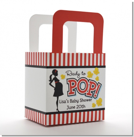 Ready To Pop ® - Personalized Baby Shower Favor Boxes
