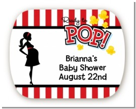 Personalized Ready To Pop Baby Shower Mint Tin Sticker Labels