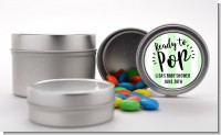 Ready To Pop Stripes - Custom Baby Shower Favor Tins