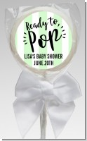 Ready To Pop Stripes - Personalized Baby Shower Lollipop Favors