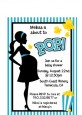 Ready To Pop Teal - Baby Shower Petite Invitations thumbnail