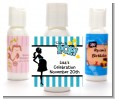 Ready To Pop Teal - Personalized Baby Shower Lotion Favors thumbnail