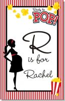 Ready To Pop - Personalized Baby Shower Nursery Wall Art