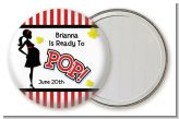 Ready To Pop - Personalized Baby Shower Pocket Mirror Favors