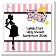 Ready To Pop Pink - Personalized Baby Shower Card Stock Favor Tags thumbnail