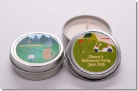 Retirement Candle Favors