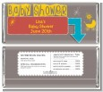 Retro Baby Theme - Personalized Baby Shower Candy Bar Wrappers thumbnail