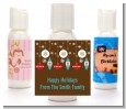 Retro Ornaments - Personalized Christmas Lotion Favors thumbnail