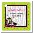 Retro Roller Skate Party - Personalized Birthday Party Card Stock Favor Tags thumbnail