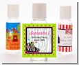 Retro Roller Skate Party - Personalized Birthday Party Hand Sanitizers Favors thumbnail