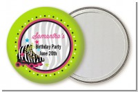Retro Roller Skate Party - Personalized Birthday Party Pocket Mirror Favors