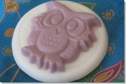 Owl Soap Personalized Baby Shower Favors