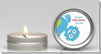 Robots - Baby Shower Candle Favors