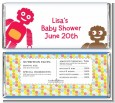 Robots - Personalized Baby Shower Candy Bar Wrappers thumbnail