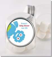 Robots - Personalized Baby Shower Candy Jar