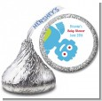 Robots - Hershey Kiss Baby Shower Sticker Labels thumbnail