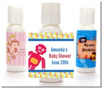 Robots - Personalized Baby Shower Lotion Favors