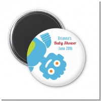 Robots - Personalized Baby Shower Magnet Favors