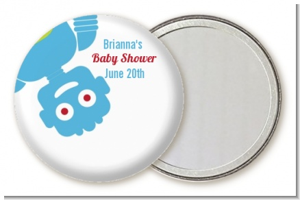 Robots - Personalized Baby Shower Pocket Mirror Favors