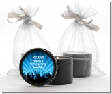 Rock Band | Like A Rock Star Boy - Birthday Party Black Candle Tin Favors
