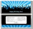 Rock Band | Like A Rock Star Boy - Personalized Birthday Party Candy Bar Wrappers thumbnail
