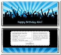 Rock Band | Like A Rock Star Boy - Personalized Birthday Party Candy Bar Wrappers