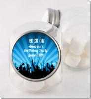 Rock Band | Like A Rock Star Boy - Personalized Birthday Party Candy Jar
