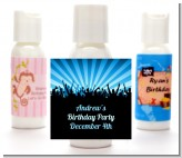 Rock Band | Like A Rock Star Boy - Personalized Birthday Party Lotion Favors
