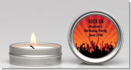 Rock Band | Like A Rock Star Girl - Birthday Party Candle Favors
