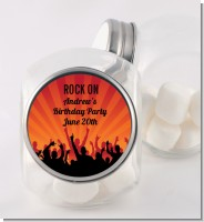 Rock Band | Like A Rock Star Girl - Personalized Birthday Party Candy Jar