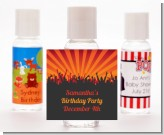 Rock Band | Like A Rock Star Girl - Personalized Birthday Party Hand Sanitizers Favors