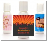 Rock Band | Like A Rock Star Girl - Personalized Birthday Party Lotion Favors
