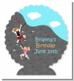 Rock Climbing - Personalized Birthday Party Centerpiece Stand thumbnail