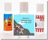 Rock Climbing - Personalized Birthday Party Hand Sanitizers Favors