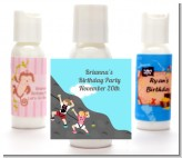 Rock Climbing - Personalized Birthday Party Lotion Favors