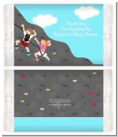 Rock Climbing - Personalized Popcorn Wrapper Birthday Party Favors